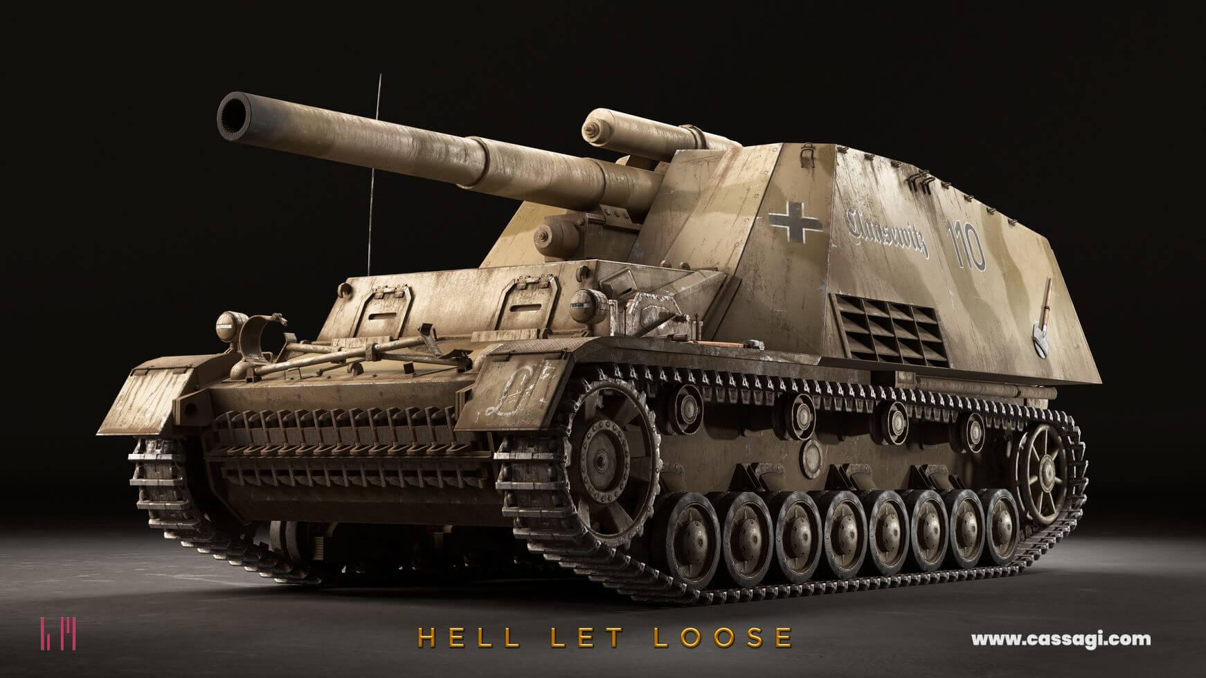 hell let loose hummel in game model