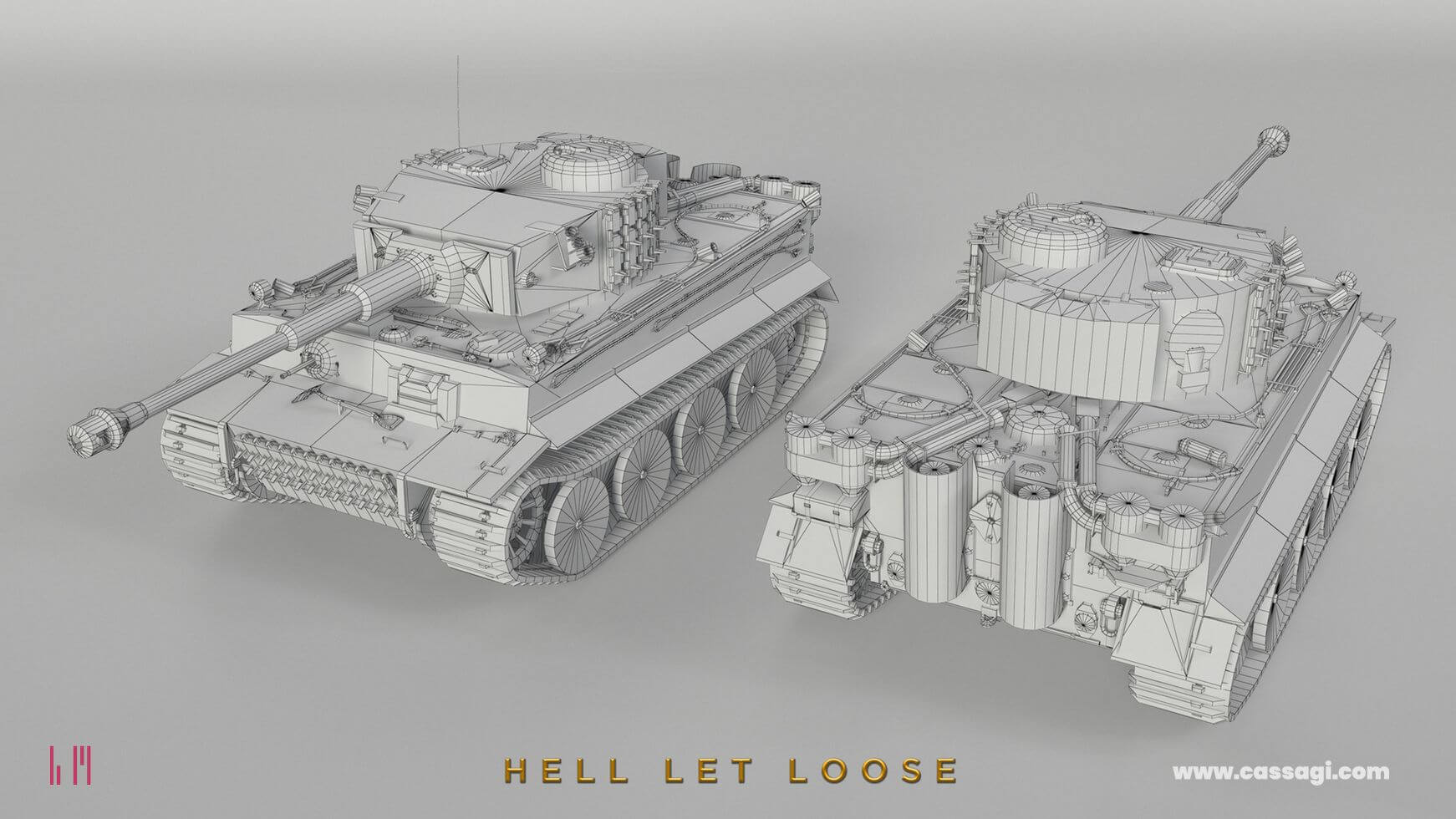 hell let loose tiger tank wire in game model