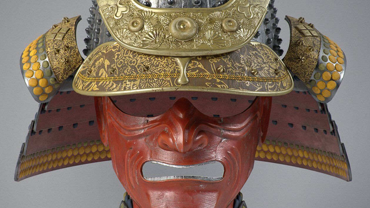 Samurai Helmet Cassagi